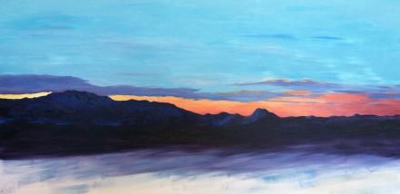 First painting of 2013--still in progress.